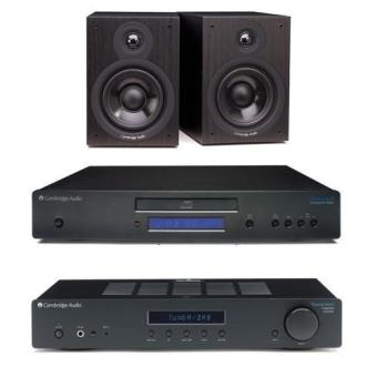Cambridge Audio Topaz AM10 + Leitor CD10 + Colunas SX50