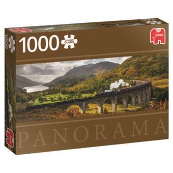 Puzzle Glennfinnen Railway Scotland - 1000 Peças - Jumbo