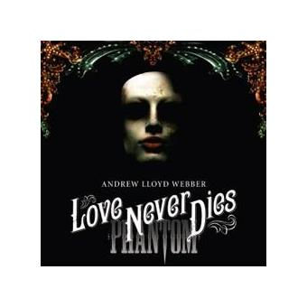 BSO Love Never Dies (Deluxe Edition 2CD+DVD)