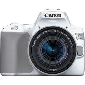 Canon EOS 250D + EF-S 18-55mm f/4-5.6 IS STM - Branco