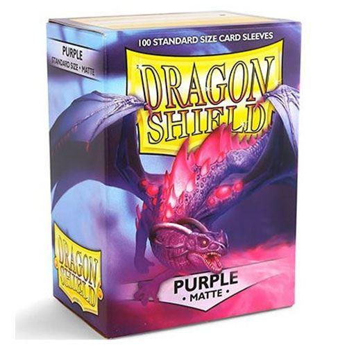 SEM MARCA - Dragon Shield Matte Purple - 100 Unidades- Arcane Tinmen