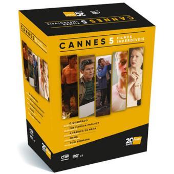 Pack Cannes 5 Filmes Imperdíveis - 5DVD