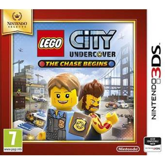 Selects LEGO City Undercover: The Chase Begins 3DS