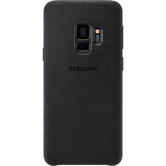 Capa Samsung Alcantara para Galaxy S9 - Preto