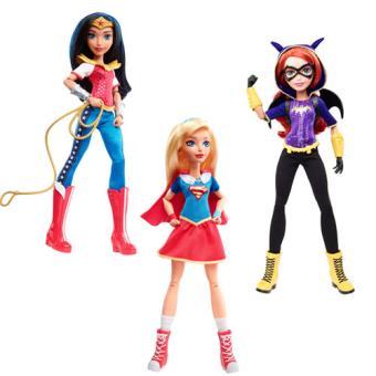 Bonecas DC Comics Super Hero Girls 30cm | Envio Aleatório