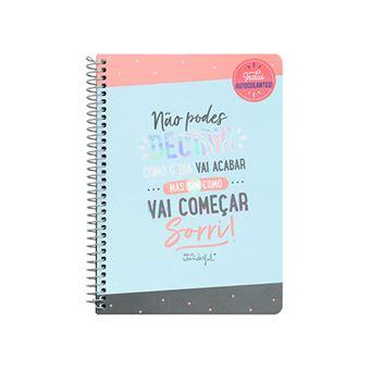 Caderno Pequeno Mr. Wonderful - Não podes Decidir como