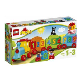 LEGO DUPLO Creative Play 10847 Comboio dos Números