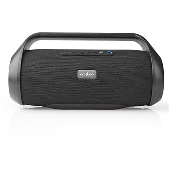 Coluna Bluetooth Nedis Party Boombox 90W - Preto