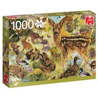 Puzzle Young Wildlife - 1000 Peças