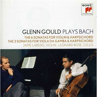 Plays Bach the 6 Sonatas for Violin and Harpsichord - 2CD