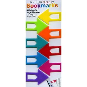 Marcadores de Livros Magnéticos - Setas