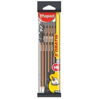 Lápis de Grafite Graph Black Peps HB - 6 Unidades