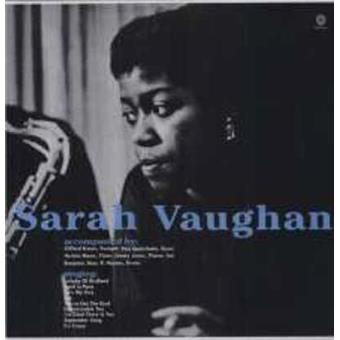 Sarah Vaughan With Clifford Brown (LP) (Remastered) (180g) (Limited Edition)