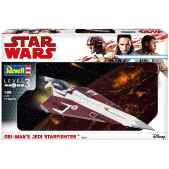 Kit Modelismo Revell Star Wars: Obi Wan's Jedi Starfighter