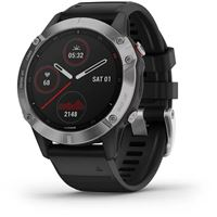 Relógio Desporto Garmin Fénix 6 47mm - Prateado   Preto