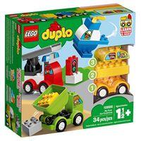LEGO DUPLO Creative Play 10886 As Minhas Primeiras Criações de Veículos