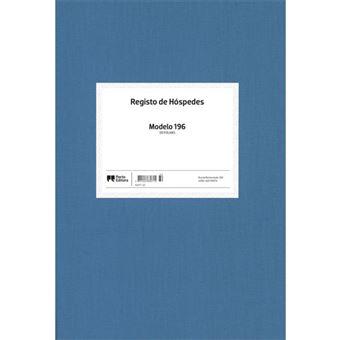 Livro de Registo de Hóspedes - Modelo 196 - 50 Folhas
