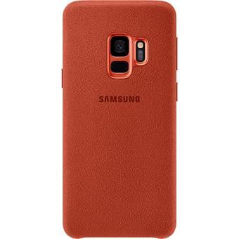 Capa Samsung Alcantara para Galaxy S9 - Vermelho