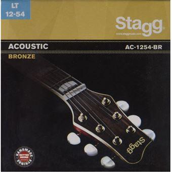 Cordas Guitarra Acústica Stagg - AC-1254-BR