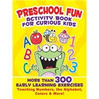 Preschool fun activity book for cur