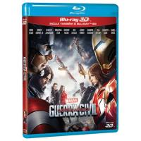 Capitão América: Guerra Civil (Blu-ray 3D + 2D)