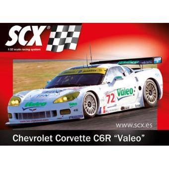 Slot-Cars: Chevrolet Corvette C6R 'Valeo' SCX