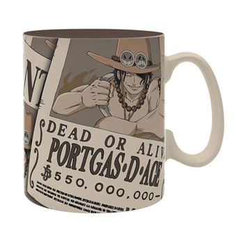 Caneca One Piece: Wanted Ace