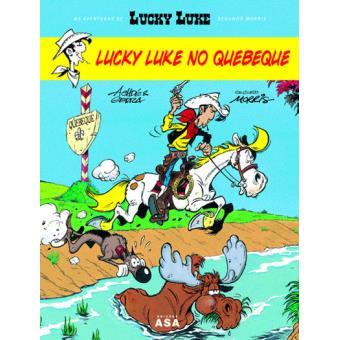 Lucky Luke no Quebeque
