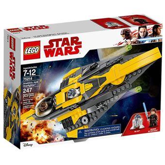 LEGO Star Wars 75214 O Starfighter Jedi de Anakin