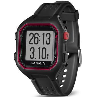 Relógio Garmin Forerunner 25 - Grande - Preto   Vermelho