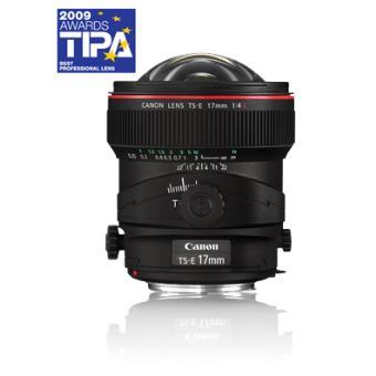 Objetiva Canon TS-E 17mm f/4L Tilt-Shift