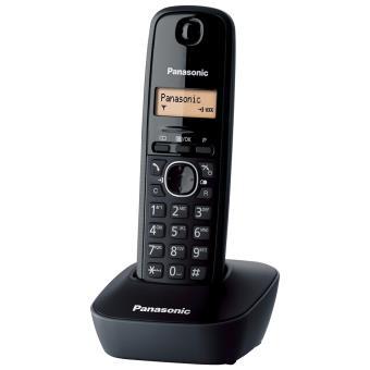 4ce3d0c9a Panasonic Telefone Sem Fios DECT KX-TG1611 (Preto) - Telefone sem ...
