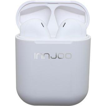 Auriculares Bluetooth True Wireless Innjoo GO - Branco