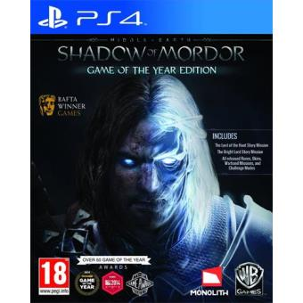 Middle-earth: Shadow of Mordor Game of the Year Edition PS4