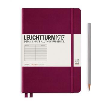 Caderno Pautado Leuchtturm A5 - Vermelho