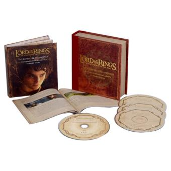 BSO The Lord of The Rings: The Fellowship of The Rings - 3CD + Blu-ray