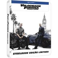 Velocidade Furiosa: Hobbs & Shaw - Edição Steelbook - Blu-ray