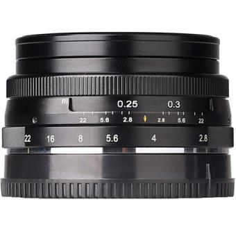 Objetiva Meike MK-E-28-2.8 28mm f/2.8 para Fujifilm X