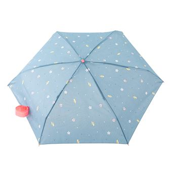 Guarda-Chuva Mr. Wonderful Pequeno Sun Raindrops - Azul