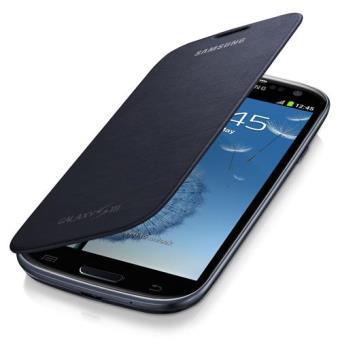 Samsung Bolsa Flip Preta para Galaxy S3