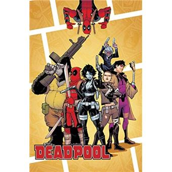 Deadpool classic vol. 23: mercs for