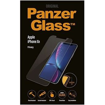 Película Ecrã Vidro Temperado Panzerglass para Apple iPhone XR