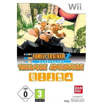 Family Trainer Treasure Adventure Wii