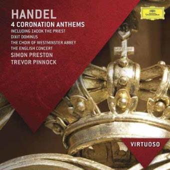 Handel | Coronation Anthems & Dixit Dominus
