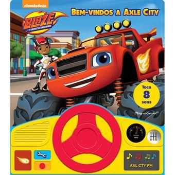 Blaze e as Monster Machines: Bem-Vindos a Axle City