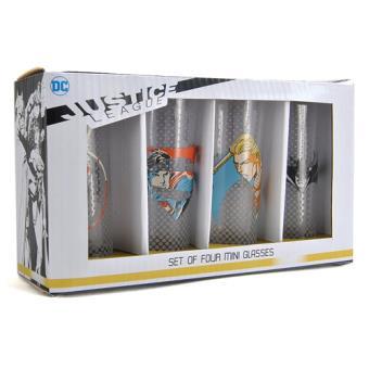 Mini Shot Justice League - 4 Unidades