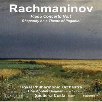 Rachmaninov: Piano Concerto No. 1 - CD
