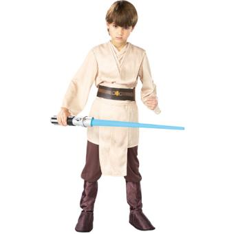 Disfarce Star Wars Jedi - Tamanho M 5 a 6 Anos