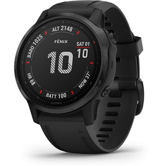 Relógio Desporto Garmin Fénix 6S Pro 42mm - Preto