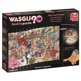 Puzzle Wasgij Destiny 18 Fast Food Frenzy - 1000 Peças